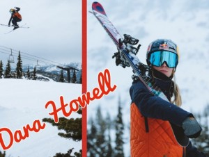 Dara Howell on the slopes Oct 30 2017