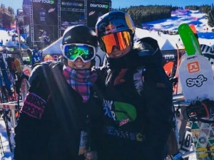 Dew Tour - Michelle with Dara