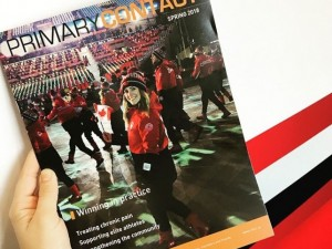 Dr. Michelle Laframboise in Primary contact mag jun 2018